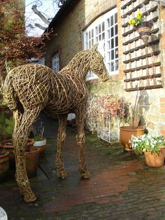 Willow Horse Sculpture / Equines Race Horses Pack HorseCart Horses Plough Horsess sculpture by artist Emma Walker titled: 'Willow FOAL'
