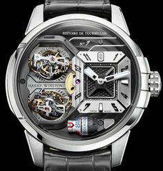 "Harry Winston Histoire De Tourbillon 7 Watch - more on aBlogtoWatch.com ""The Histoire de Tourbillon series is going to get Harry Winston in trouble. Seeing how every iteration of this series of incredible legacy watches has gotten exponentially more and more complex every year, we're starting to wonder how on Earth will they be able to deliver something that can up the ante from the previous version. Still, it doesn't look like 2016 will be the year the Histoire De Tourbillon plateaued..."""