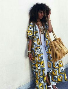 Latest Ankara Dress Styles - Loud In Naija African Inspired Fashion, African Print Fashion, Africa Fashion, African Fashion Dresses, Fashion Prints, Ankara Fashion, African Prints, African Fabric, African Attire