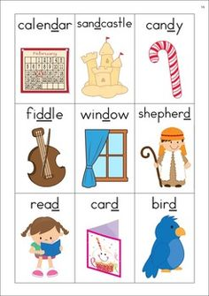 Alphabet Vocabulary Cards for initial medial and final sound positions. Alphabet Cards, Alphabet For Kids, Alphabet Worksheets, Preschool Worksheets, Blends Worksheets, Subject And Predicate, Letter Of The Week, Teacher Books, Vocabulary Cards