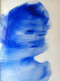 Pedro Batista (Portugal)  Série Evasion  Sem título  Óleo sobre papel de acetato  61x51 cm