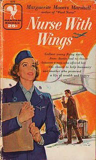 She was a nurse with wings. #books #vintage #nurse