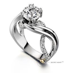 "Enchantment by Mark Schneider... ""Center stone NOT included price of the ring of $3510. Center stone sold separately."" OMG! I didn't know that I have expensive taste in rings...T_T"