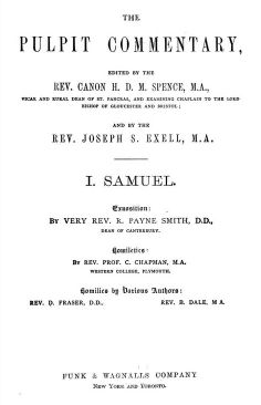 1 Samuel, The Pulpit Commentary.