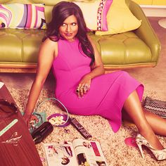"""You should know I disagree with a lot of traditional advice. For instance, they say the best revenge is living well. I say it's acid in the face—who will love them now?"" #mindykaling"