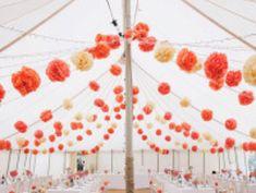 Sweet Sixteen Decorations, Tent Decorations, Engagement Party Decorations, Luau Bridal Shower, Bridal Shower Cakes, Recruitment Decorations, Tissue Paper, Paper Poms, Diwali Party