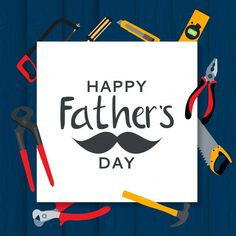 Fathers day background. best dad | Premium Vector #Freepik #vector #card #tools #father #mustache Daddy Day, Best Dad, Happy Father, Fathers Day, Dads, Mustache, Tools, Instruments, Moustache