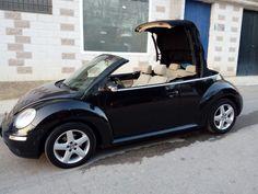 11299,00€ · Vendo Volkswagen new beattle · New beattle cabrio 1.9 diésel con 105 cv. Color negro con tapicería beige. El coche está en muy buen estado. Un solo propietario. El coche es del 2007. Tiene 155.000km. El coche va como la seda. Se puede probar sin ningún tipo de compromiso. Todas las revisiones al día. Extras: aire acondicionado, radio mp3, intermitentes integrados en espejos retrovisores, espejo retrovisor interior antideslumbramiento, ESP, elevalunas eléctricos, bloqueo de…