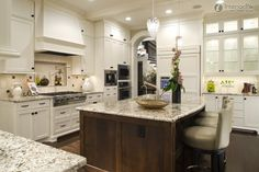 kitchen cabinets different color on bottom | kitchen design pictures. European style kitchen, European kitchen ...