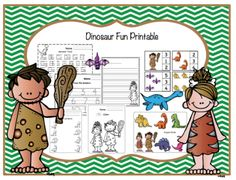 Dinosaur+Fun+Printable+from+Preschool+Printables+on+TeachersNotebook.com+-++(40+pages)++-+Printable:+The+activities+in+this+pack+are+designed+to+have+fun+while+the+child+learns+a+variety+of+preschool+concepts+including+number,+color,+patterns,+sequence,+size,+letters+and+more.