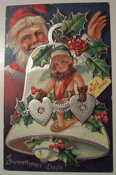 Vintage Christmas Santa Claus / St. Nick
