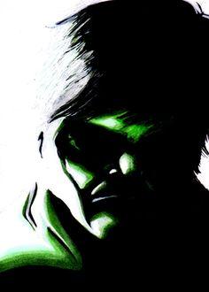 The Hulk Comic Art