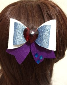 Hey, I found this really awesome Etsy listing at https://www.etsy.com/listing/264710679/rarity-felt-hair-bow-kawaii-cosplay