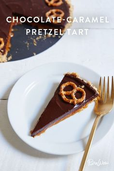 Chocolate-Caramel Pretzel Tart recipe. Because there's nothing like a little salt and sweet at the same time.