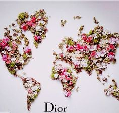 GLOBAL BLOOMING   . #Dior (via French Essence)