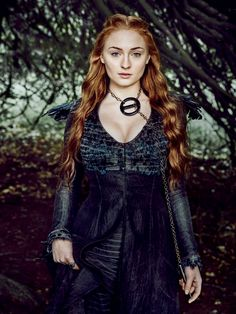 "Game of Thrones Sophie Turner as ""Sansa Stark"" Game Of Thrones Queen, Hbo Game Of Thrones, Elvis Presley, Beauté Blonde, Game Of Throne Actors, Tom Wlaschiha, My Champion, Rose Leslie, English Actresses"