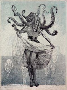 the journal of kraken research Le Kraken, Tarot Gratis, Max Ernst, Oeuvre D'art, Dark Art, Cool Art, Art Photography, Street Art, Illustration Art