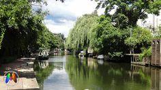 Little Venice, pertinho da estação de Paddington,  é o ponto em que o Regent's…