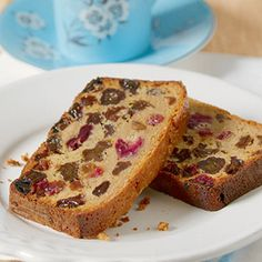 Lady Grey Tea Loaf with Vine Fruits...This low fat variation of an English classic uses lightly fragranced Lady Grey tea, with subtle hints of lemon and orange – great for tea in the garden...