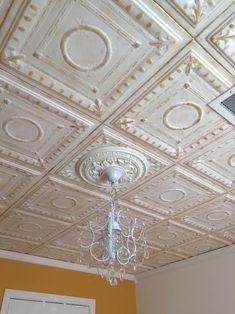 Romanesque Wreath Glue Up Styrofoam Ceiling Tile 20 X R 47