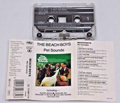 BEACH BOYS  PET SOUNDS  VINTAGE Cassette Audio Tape