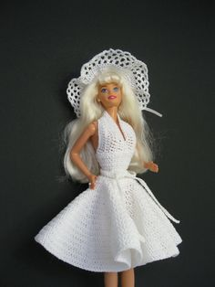 Marilyn Monroe  Barbie doll plus a hand by ToneyTreasures on Etsy, $25.00