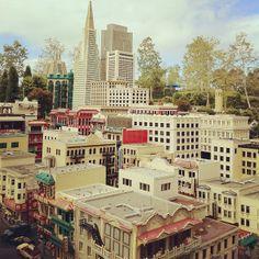 San Francisco in Legos