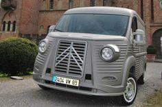 Citroen Concept, Citroen Type H, Automobile, Jumper, Nostalgia, Volkswagen, Camping, Next Week, Airstream