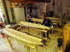 How to build your own wooden hollow surfboard - course by Macsurf