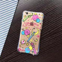 Baguette magique Sailor Moon pour Coque iPhone 5 5S SE cas rationalisé TPU Silicone avec prise de poussière Funda pour iPhone 5S couvre
