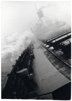 The Irving S. Olds on a Winter Run, Upper Lake Huron, January 1976 Photograph by Rus Hurt / Lake Boats No Longer With Us Great Lakes Ships, Stormy Sea, Lake Huron, Sail Away, Lake Superior, Michigan, Sailing, Lake Boats, America