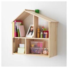 FLISAT, къща за кукли/стенна етажерка, 502.907.85 - IKEA България House Shelves, Bookcase Shelves, House Wall, Wall Shelves, Shelving, Doll House Book Shelf, Ikea Kids, Ikea Dollhouse, Dollhouse Shelf