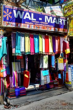 Fake Wal Mart Store in Thamel, Kathmandu, Nepal -- They don't even have a greeter...