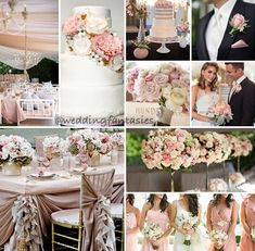 Blush wedding... Wedding ideas for brides, grooms, parents & planners ... https://itunes.apple.com/us/app/the-gold-wedding-planner/id498112599?ls=1=8 … plus how to organise an entire wedding ♥ The Gold Wedding Planner iPhone App ♥