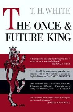 """""""The Once and Future King"""" by T. H. White - Once upon a time, a young boy called """"Wart"""" was tutored by a magician named Merlyn in preparation for a future he couldn't possibly imagine. A future in which he would ally himself with the greatest knights, love a legendary queen and unite a country dedicated to chivalrous values. A future that would see him crowned and known for all time as Arthur, King of the Britons."""