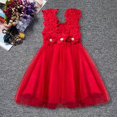 Baby Girls Carnival Outfits Newborn Infant My First Birthday Tutu Dress Up Baby Carnival Flower Lace Dress Christening Wear Kids Summer Dresses, Toddler Girl Dresses, Girls Dresses, Dress Summer, Kid Summer, 2017 Summer, Spring Summer, Tulle Dress, Dress Up