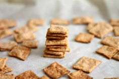 Chocolate & Chillies -Homemade Wheat Thins