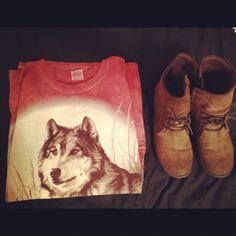 Wolf shirts.