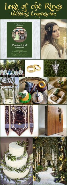 Wed in Middle Earth A Lord of the Rings Inspired Wedding Day with