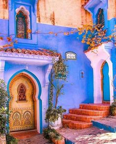 Chefchaouen, Morocco, Old Town, Blue - Morocco Travel Destinations Marrakesh, Marrakech Morocco, Beautiful World, Beautiful Places, Wonderful Places, Places To Travel, Places To Visit, Travel Destinations, Morocco Travel