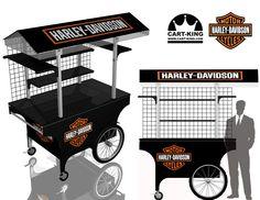 Harley Davidson Ez-Cart http://www.Cart-King.com