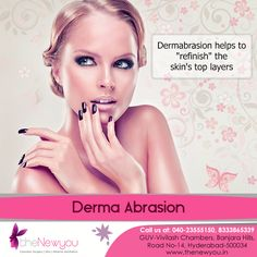 Correct #unevenskintone, #hyperpigmentation and skin spots effectively and get flawless glowing skin with the #DermaAbrasion Procedure from theNewyou.