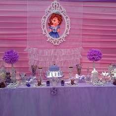 Cumpleaños Sofía  - Princesa Sofía