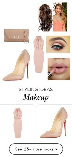 """""""Untitled #2021"""" by bianca-salazar97 on Polyvore featuring Christian Louboutin"""