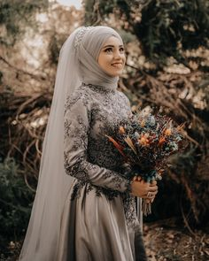 Muslim Wedding Dresses, Wedding Abaya, Hijabi Wedding, Muslim Brides, Muslim Dress, Bridal Dresses, Wedding Gowns, Muslim Couples, Muslim Women