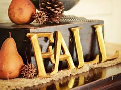 Create a Welcoming Fall Entryway : Decorating : HGTV