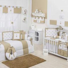 decoracao neutro para quarto de bebe