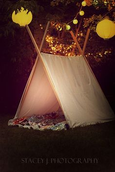 Homemade Tent    #tent #homemade #twinkle lights