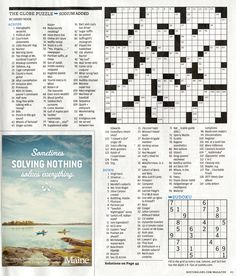 Read more: https://www.luerzersarchive.com/en/magazine/print-detail/maine-tourism-60093.html Maine Tourism These ads for Maine Tourism were specially designed to appear on the crossword page of the Boston Globe. Tags: BVK, Milwaukee,Nick Pipitone,Mitch Markussen,Dennis Welsh Photography, Yarmouth,Anthony Giacomino,Maine Tourism