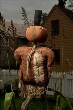 Prim Harvest Thyme Scarecrow...